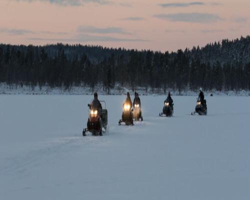 Puente Diciembre 2019 en Laponia