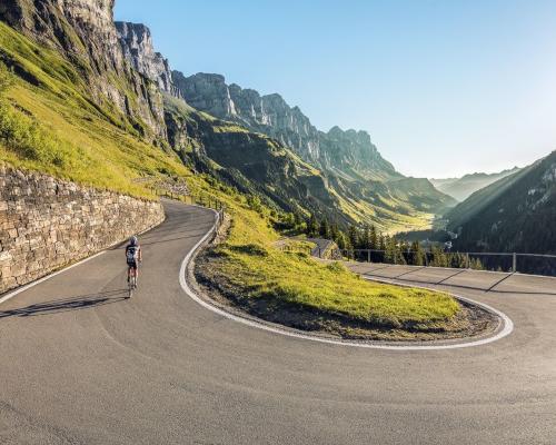 El Corazón de Suiza en bicicleta