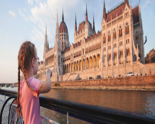 Budapest amb nens
