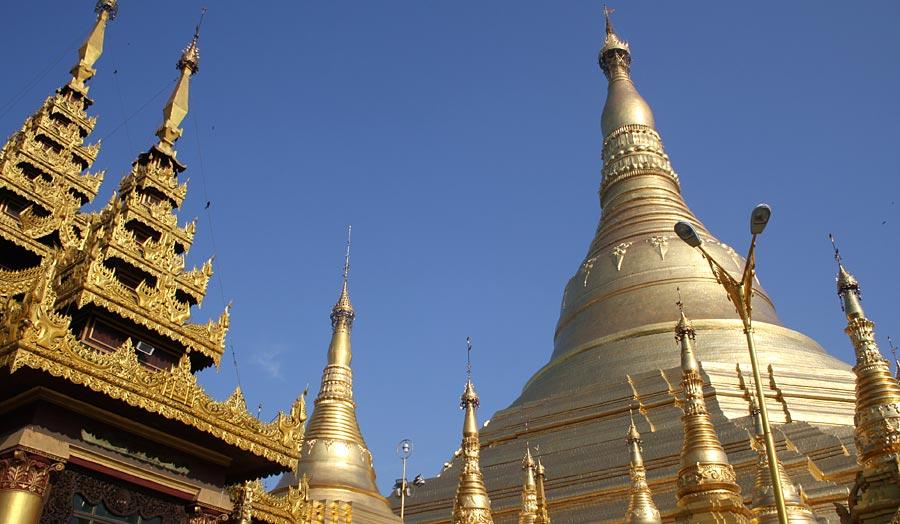 """Rundreise """"Goldenes Myanmar"""" ab Yangon"""