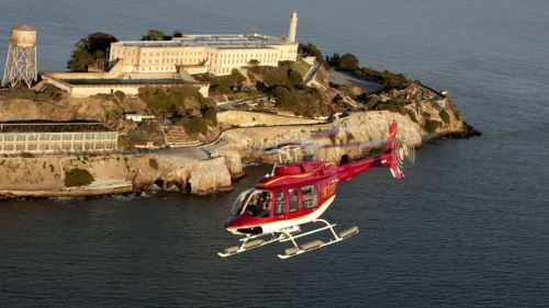 San Francisco Helicopter Tour With Dinner Cruise
