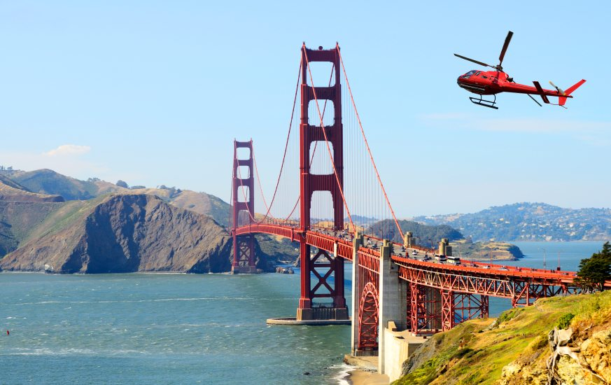 San Francisco Helicopter Tour