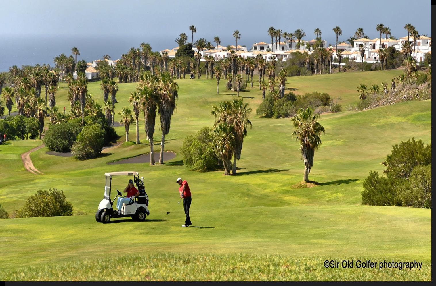 Golf-Stopover in Madrid & entspanntes Golfen auf Teneriffa