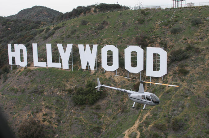 Hollywood Strip Los Angeles Helicopter Tour
