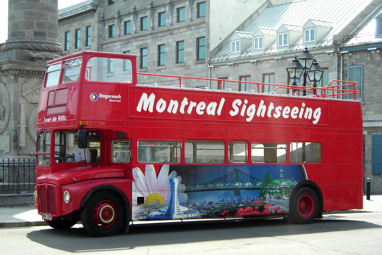 Montreal Hop on Hop off Tour