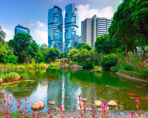 Hongkong, Singapur & Baden auf Bali