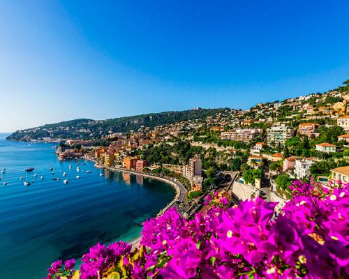 9 days. Nice 5 * Antibes 5* Cannes 5 *   St Tropez 5 *