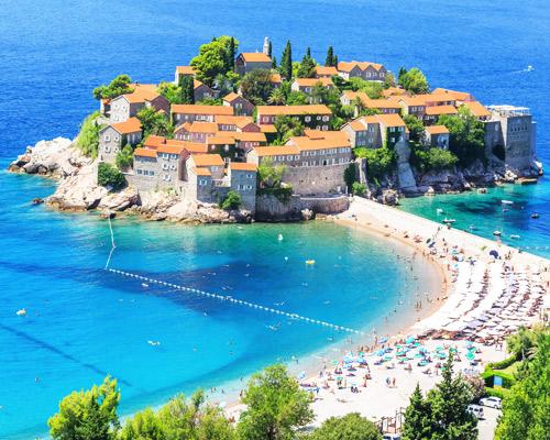 Egy hét nyaralás Budvában, Montenegróban, szállással, repülőjeggyel