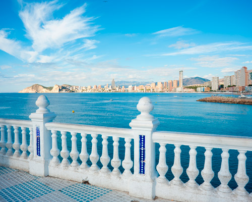 Benidorm from Madrid