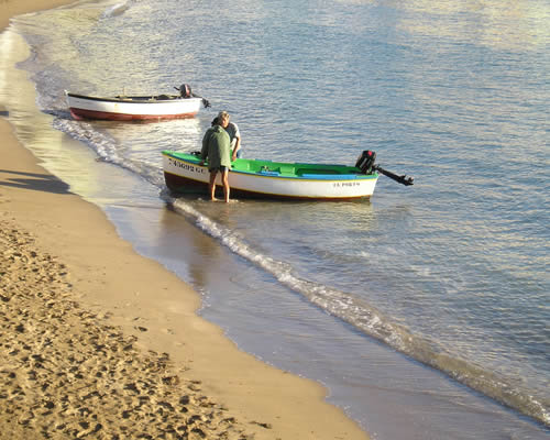 Sulcando as águas de Gran Canaria