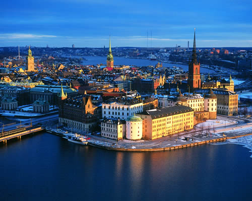 Capitales de Escandinavia