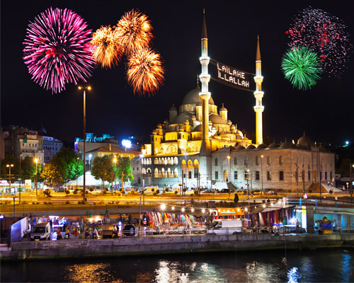 Véspera de Ano Novo Mágica em Veneza e Istambul