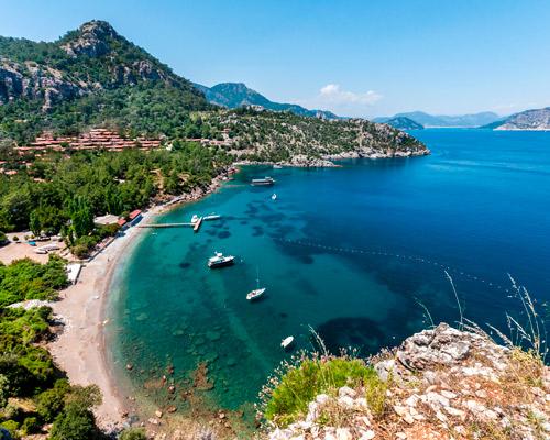 Romantic  Escape in Turkey