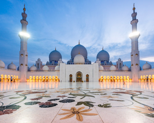 5 Days. Abu Dhabi 4* + Abu Dhabi Mosque & Louvre Museum
