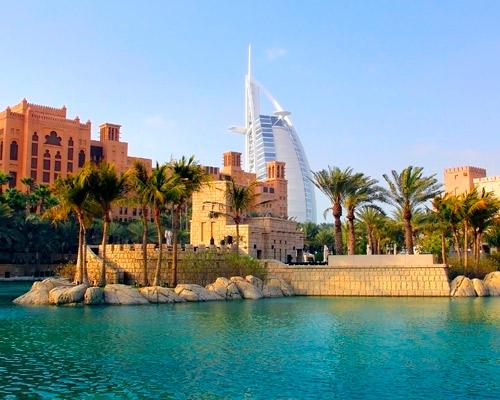 Egy hét Dubaj: utazás repülővel + hotel 5*