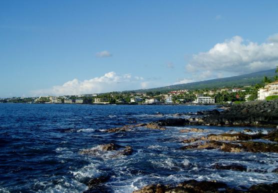 KAILUA KONA, HAWAII - UN BUCEO EXÓTICO