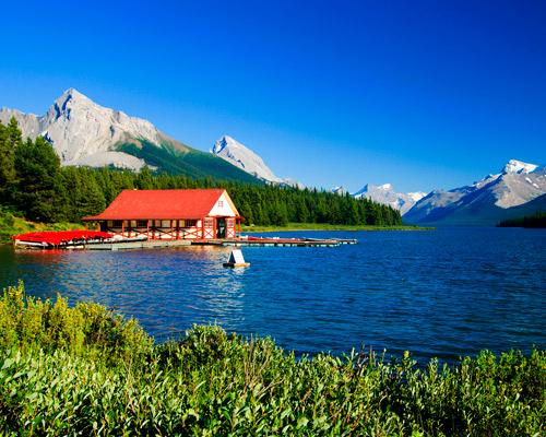 Disfruta del oeste canadiense