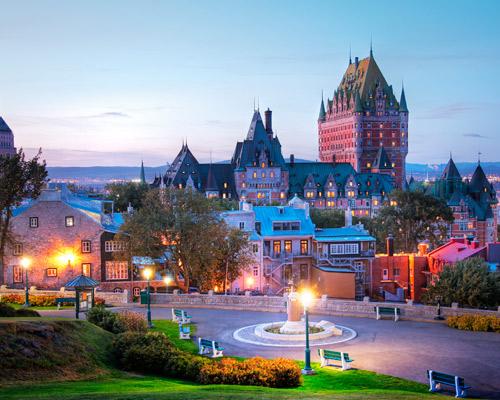 Capitales de Canadá, Toronto, Montreal y Quebec, visitando cataratas del Niagara