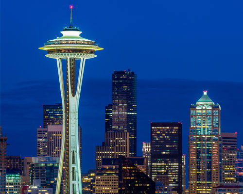Norte de USA y Canadá, Seattle y Vancouver