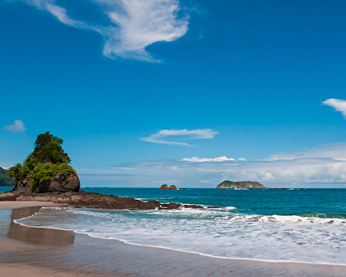 Costa Rica Beach and Volcanoes