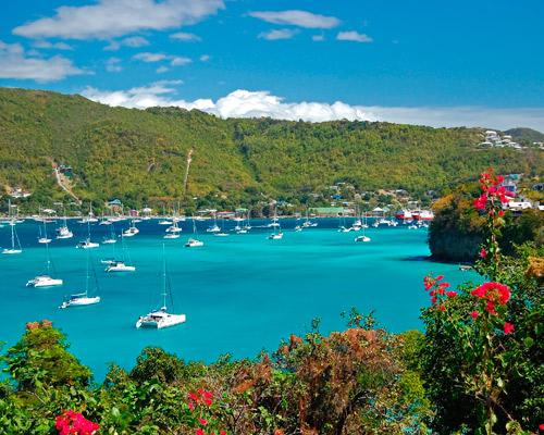 Miami, St. Vincent und die Grenadinen & Barbados