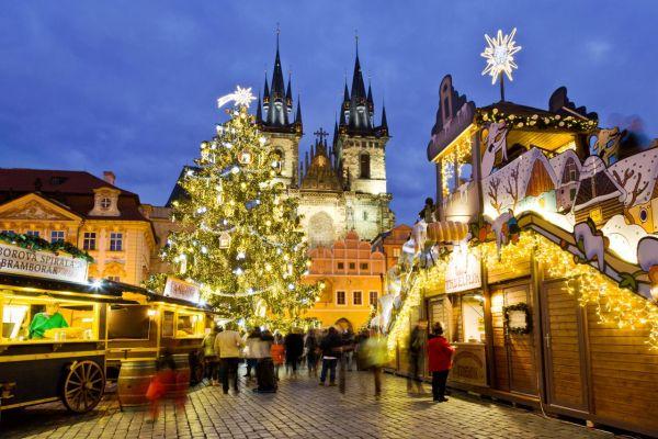 Praga, Mercadillos Navideños