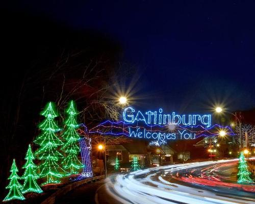 Christmas in Gatlinburg, Tennessee!