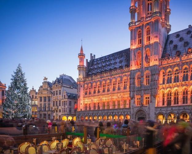 Mercados de Natal em Bruxelas