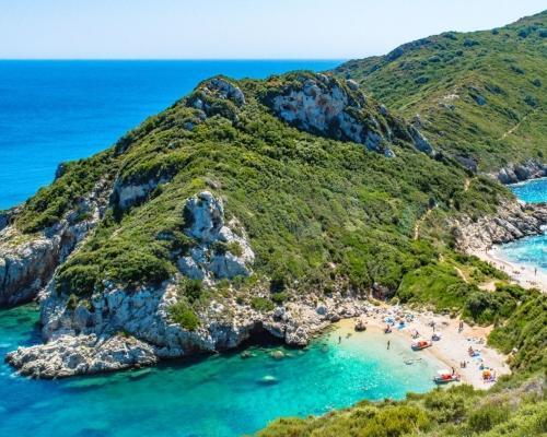 Korfu utazás októberben repülőjeggyel, szállással
