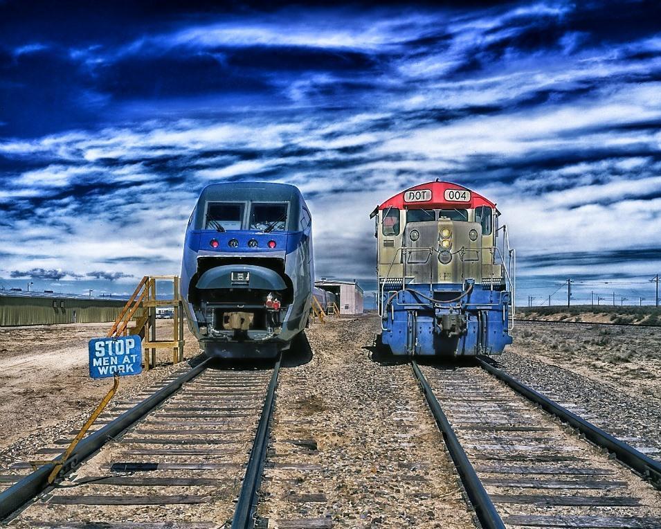 In einem Zug durch die USA
