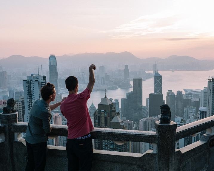 Dubai City & Hongkong