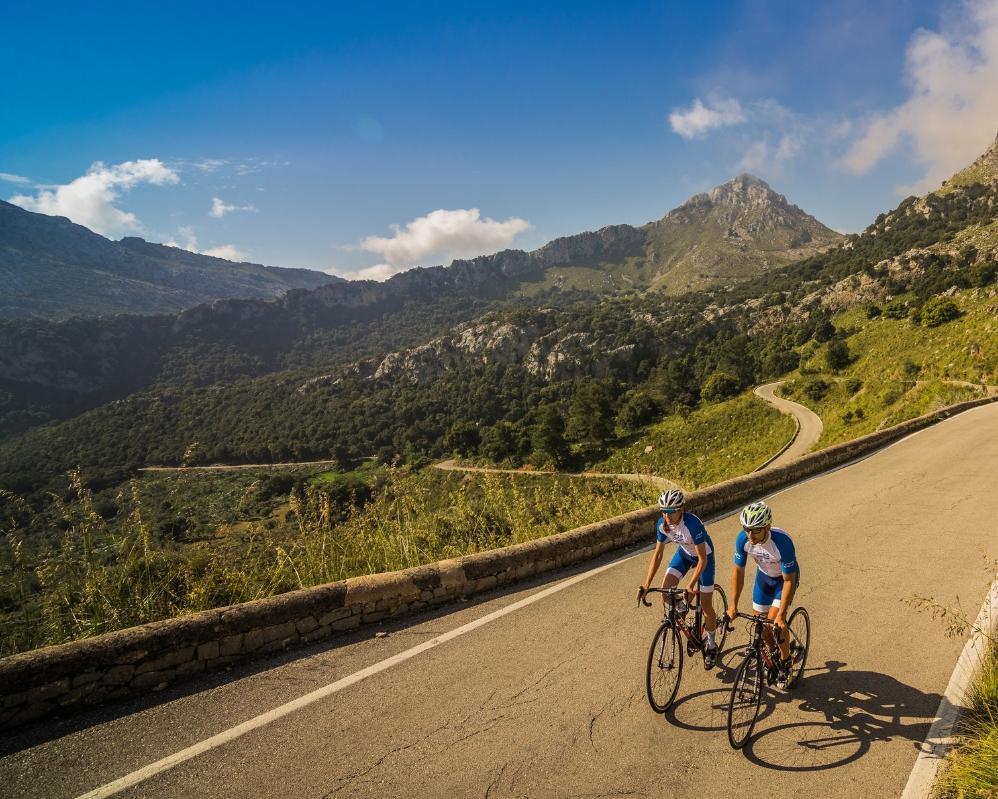 Semana de entrenamiento en Mallorca para ciclistas