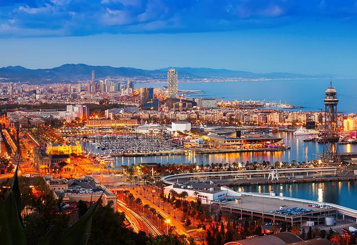 5 Days. Barcelona 5* - Option 1