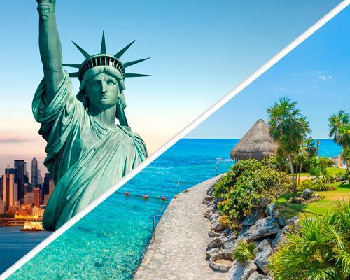 Viajar a Nueva York y Riviera Maya
