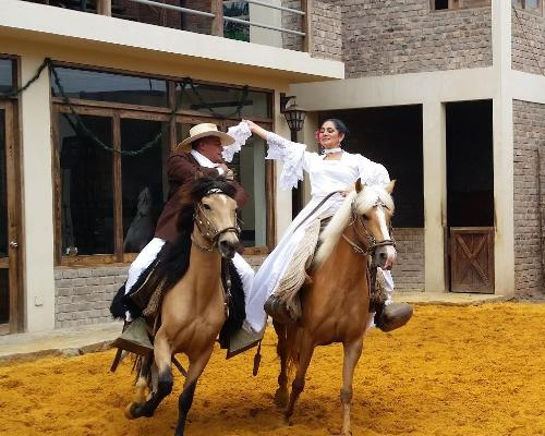 Show Caballo Peruano de Paso + Pachacamac